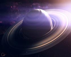 Почему вокруг Сатурна кольца? - Хочу всё знать